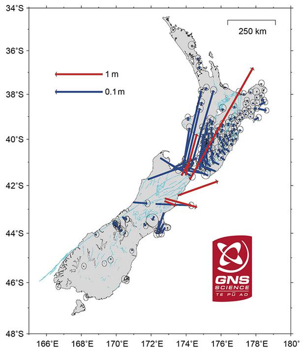 South Island南岛7.8级地震 让地形发生巨大变化 - wuwei1101 - 西花社